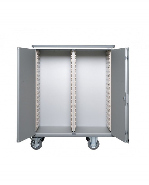ALUMINIUM TRANSFER CABINET 600 X 400 ( 2 X 18 MODULES)