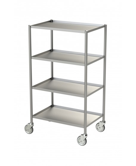 STAINLESS STEEL TROLLEY FOR CONTROL DEVICES
