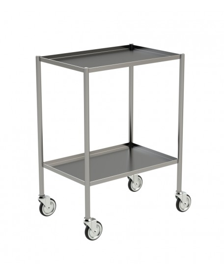 GUERIDON INOX - BORDS RELEVES