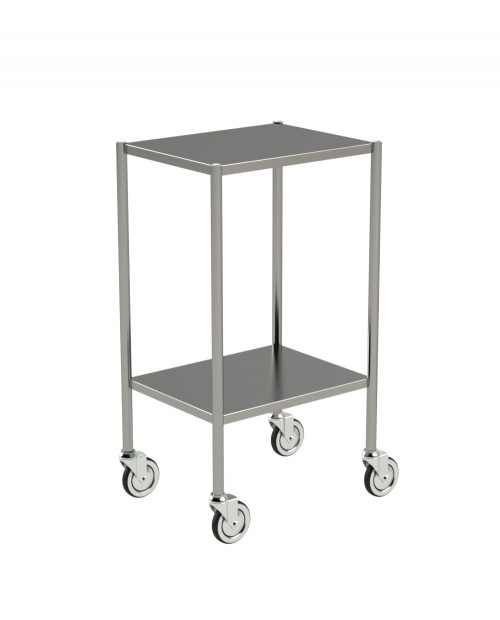 SMALL STAINLESS STEEL TROLLEYS