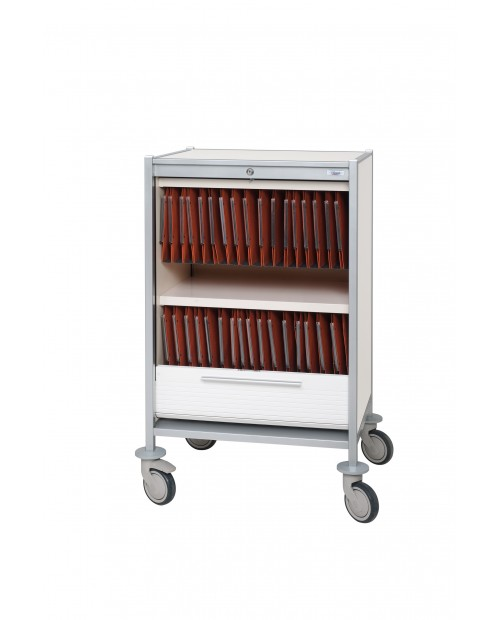 TROLLEY FOR MEDICAL HANGING FILES