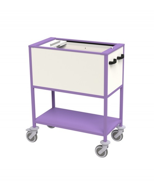 TROLLEYS FOR MEDICAL HORIZONTAL HANGING FILES