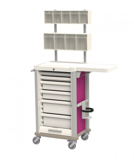 TREATMENT CART WITH BRIDGE
