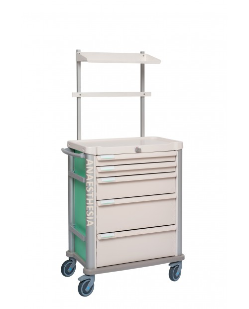 ANAESTHESIA CART EOLIS 600X400 EQUIPPED