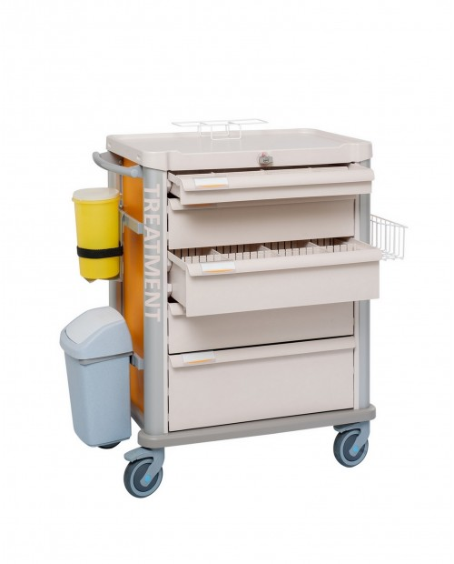 TREATMENT CART EOLIS 600X400 FULLY EQUIPPED