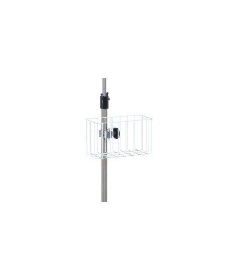 Epoxy wire basket for IV pole