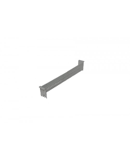 Séparateur profondeur 1 module pour bac ISO 600x400