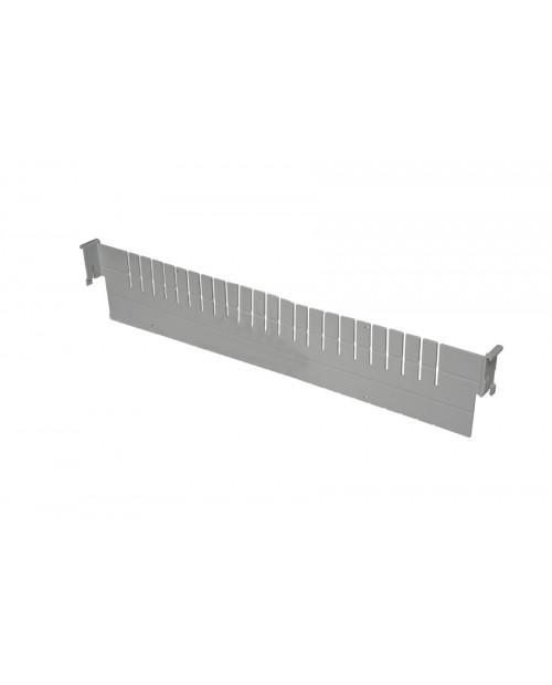 Séparateur largeur 2 modules pour bac ISO 600x400