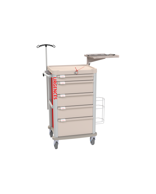 EMERGENCY CART EOLIS COMPACT EQUIPPED