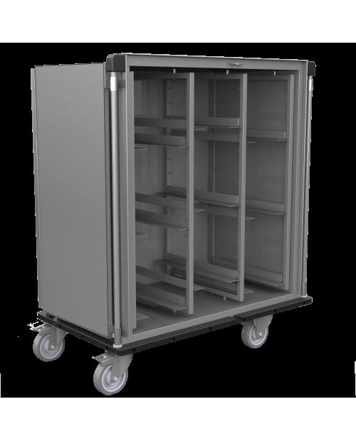 Armoires de transfert inox AiSi 304 - Format  DIN - 3 colonnes
