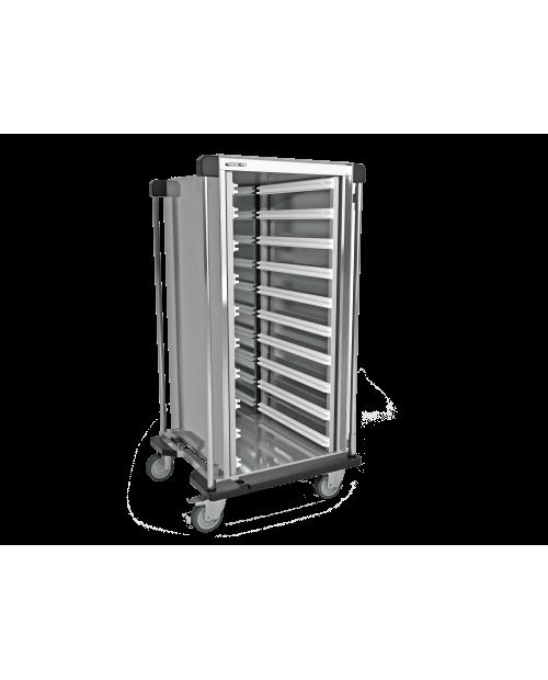 Armoires de transfert inox AiSi 304 - Format ISO - 1 colonne