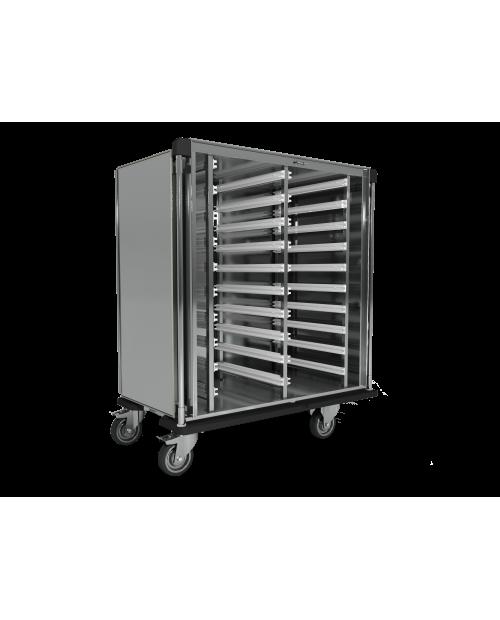 Armoires de transfert inox AiSi 304 - Format ISO - 2 colonnes