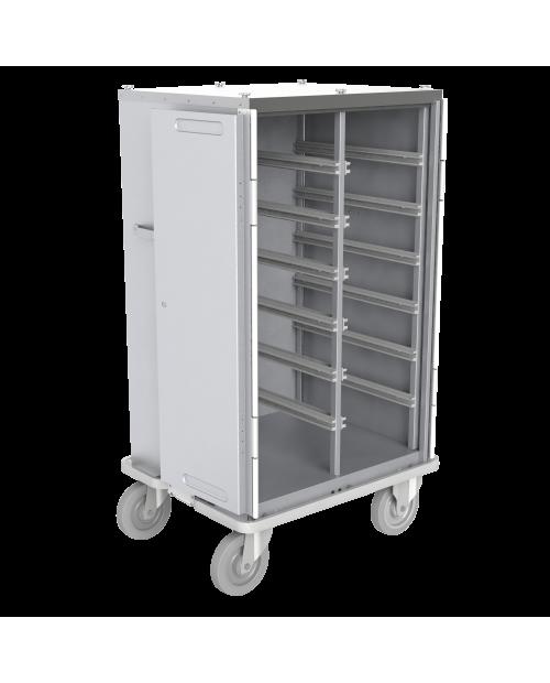 Armoires de transfert  aluminium - Format  DIN - 2 colonnes