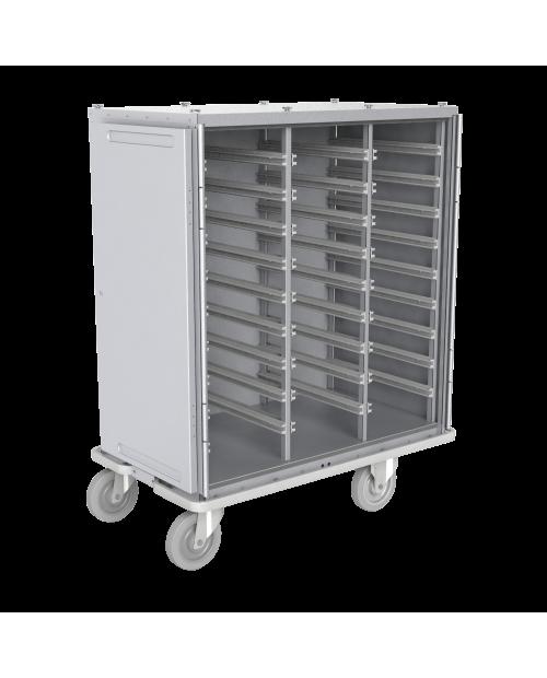 Armoires de transfert  aluminium - Format  DIN - 3 colonnes