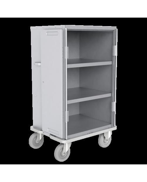 Armoires de transfert  aluminium - Format  DIN - 2 étagères