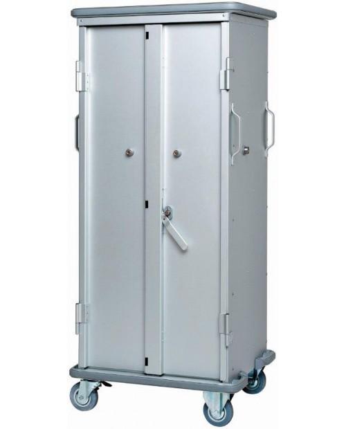 Armoires de transfert  aluminium - Format  ISO - Profondeur 400 mm - 1 colonne