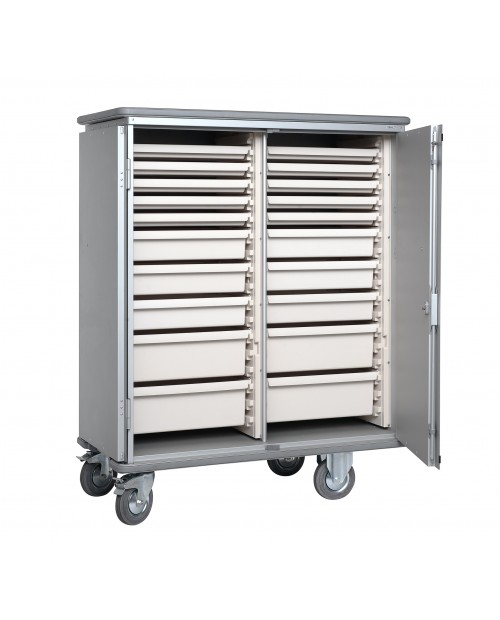 Armoires de transfert  aluminium - Format  ISO - Profondeur 400 mm - 2 colonnes
