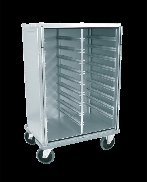 Armoires de transfert aluminium - Format  ISO - Profondeur 600 mm - 2 colonnes