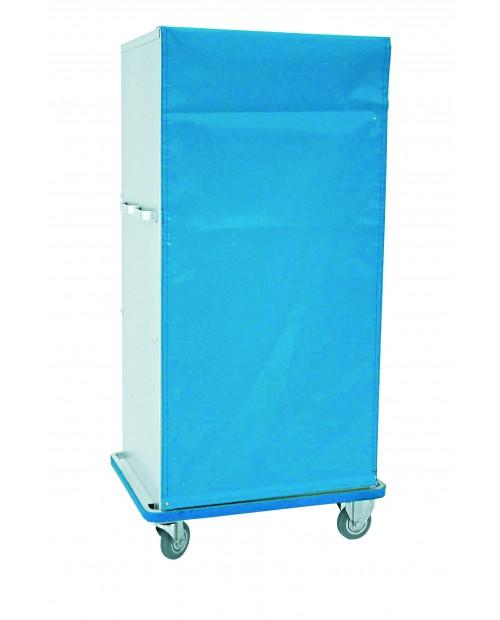 Armoires pour le transport du linge propre et du linge sale - Fermeture par rideau