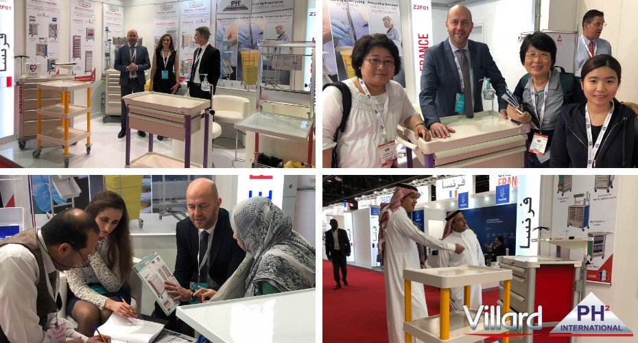 Villard Médical thanks you for your visit during ArabHealth 2019 (January 28/31, 2019 / Dubaï)