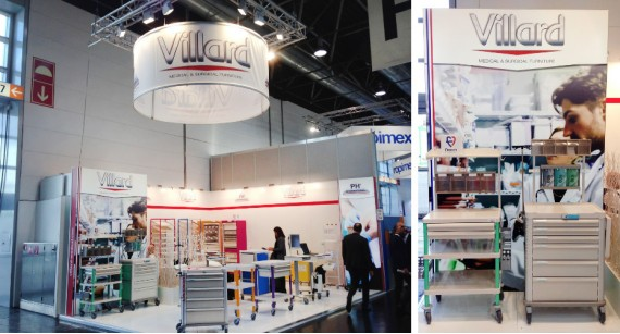 VILLARD MEDICAL thanks you for your visit during MEDICA 2018!