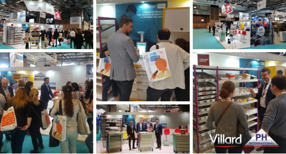 Thank you for coming at Paris Healthcare Week 2019 to meet Villard Medical! (21st - 23rd May 2019 | Paris Expo)