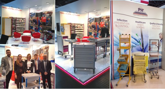 Villard Médical and PH² International  thanks you for your visit during MEDICA 2019