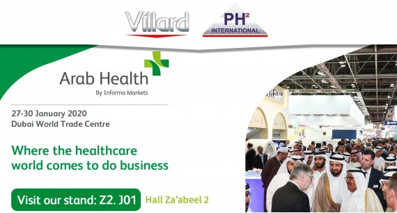Villard Medical will be presentl Hall Zabeel 2 - Booth Z2. J01 during ARAB HEALTH 2020 (Jan. 27-30 / Dubaï)