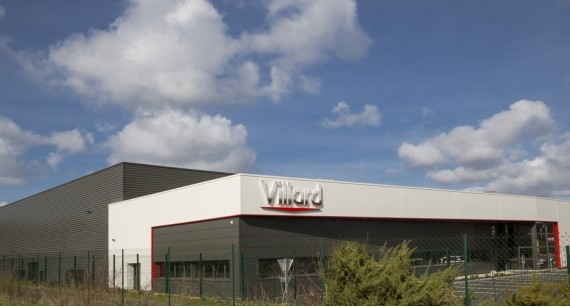 Since beginning of 2017  VILLARD is located in a new factory in Neuville sur Sarthe at 3 km from Le Mans- France .