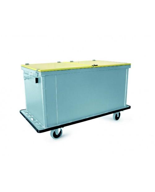 Armoires pour le transport du linge propre et du linge sale