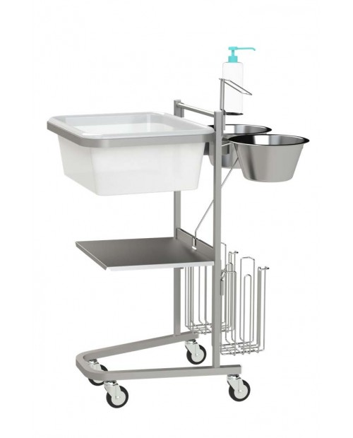 Opti-Soins® Linen Collection Cart - Villard Medical