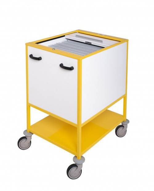 TROLLEYS FOR X-RAY HORIZONTAL HANGING FILES