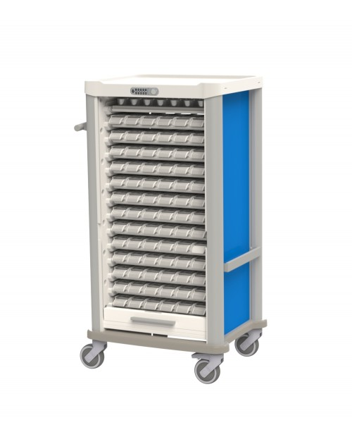 MEDICATION CART EOLIS® COMPACT FOR WEEKLY DISTRIBUTION - 13 PATIENTS