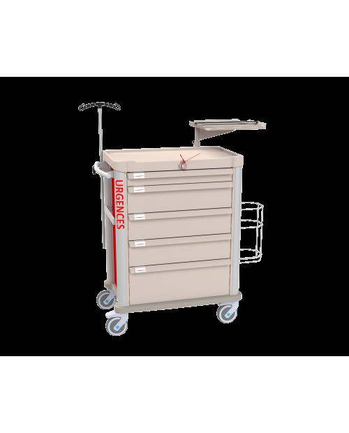 Emergency Cart EOLIS 600x400 Equipped