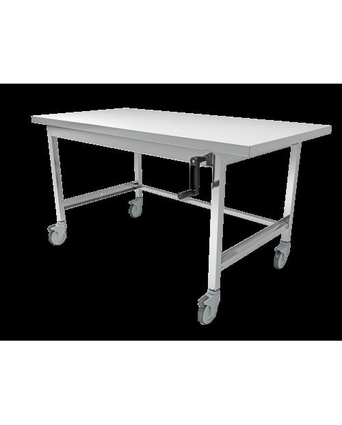 Tables de conditionnement inox fixes