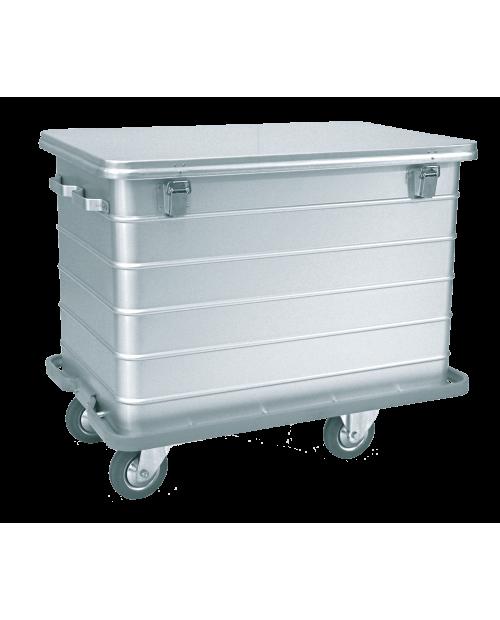 Conteneurs à déchets et à linge sale - Couvercle non-amovible