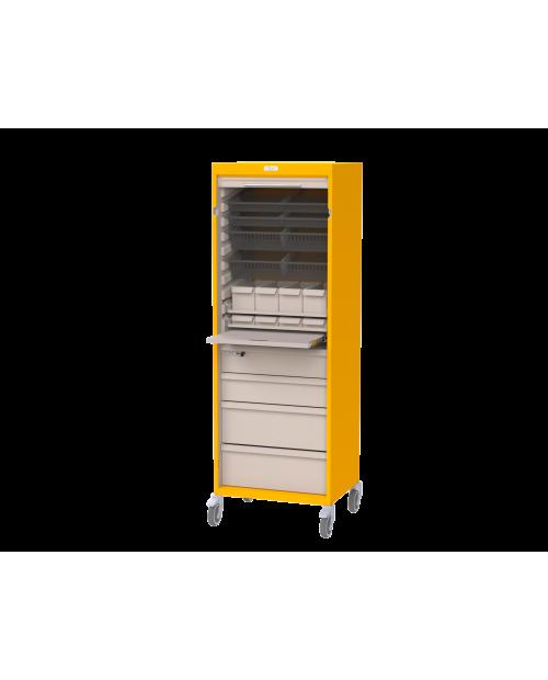 Armoires de stockage mobiles EOLIS® - Profondeur 400